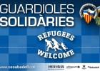 El Sabadell se une a la campaña de ayuda a los refugiados
