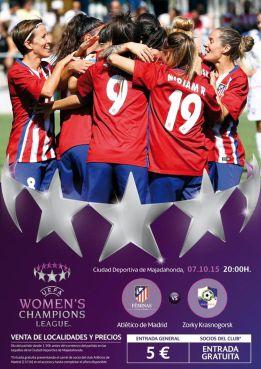 El Atlético Féminas, a por el lleno en su debut en Champions