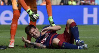 Messi no se detiene y continúa con su plan de recuperación