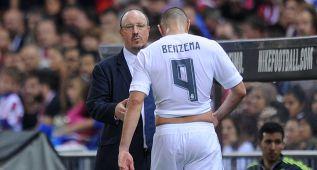 Benzema ya ha dejado de jugar 126 minutos en ocho partidos