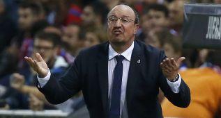 Rafa Benítez: diez goles menos que Ancelotti en siete jornadas
