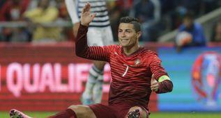 Cristiano, liberado del partido ante Serbia, viajó a Madrid