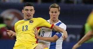 Rumanía salva una derrota ante Finlandia en el descuento