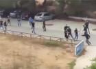 Detenidos doce hinchas del Cádiz y del Xerez por la reyerta