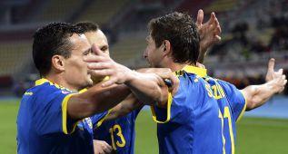 Ucrania cumple con mucho sufrimiento ante Macedonia