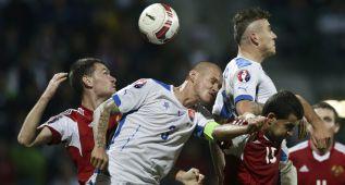Drahun amargó la fiesta de Eslovaquía que no se clasificó