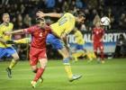 La Suecia de Ibrahimovic ganó, pero irá otra vez a la repesca
