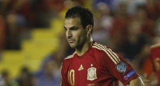 Fàbregas, 100 partidos como máximo asistente de La Roja