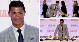 Cristiano Ronaldo gana su cuarta Bota de Oro