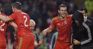 Gareth Bale jugó 90 minutos y marcó en la fiesta de Gales
