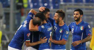 Italia remonta, pero va al bombo 2; Noruega a la repesca