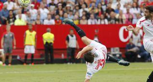Siete goles en Liga: el Sevilla menos anotador en una década