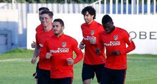 Fernando Torres se entrena con normalidad con el grupo