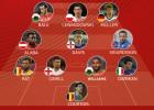 Gareth Bale, en el mejor once de la clasificación a la Euro 2016