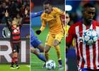 Chicharito, Neymar, Jackson o Hulk, entre los más destacados
