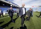 Del Bosque y la FA supervisan las mejoras en el Rico Pérez