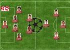 El once latinoamericano de AS de la jornada de Champions