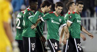 El Athletic pone las cosas en su sitio en Belgrado