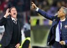 Fiorentina y Roma se juegan la punta de la liga italiana