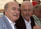 Blatter niega haber exigido dinero a Beckenbauer
