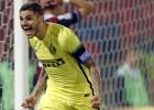 Icardi da la victoria al Inter en Bolonia y el liderato