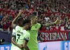 Sevilla-Manchester City en imágenes