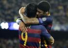 Neymar y Suárez se reparten los goles del Barça sin Messi