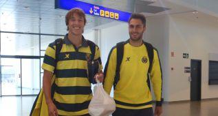 Pina se olvidó el pasaporte y el Villarreal despegó tarde a Minsk