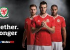 Bale, imagen de Gales y su nueva equipación para la Eurocopa