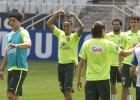 Argentina recibe con bajas a una Brasil ya con Neymar