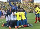 Ecuador se impone a Uruguay y se asienta en la punta