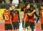 Italia perdona y Bélgica golea