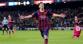 Messi marcó 6 goles en sus 13 reapariciones, uno cada 96'