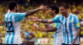 Mascherano pudo con James y Biglia dió el triunfo a Argentina