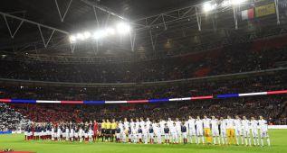 Wembley honró al fútbol y La Marsellesa resonó en Londres
