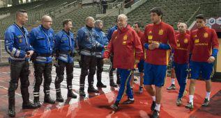 El Bélgica-España se suspende por amenaza terrorista