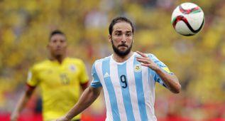 "Higuaín: ""Hemos realizado dos grandes partidos"""