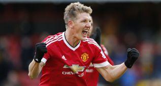 El United gana sobre la campana al Watford de Quique Flores