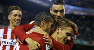 Koke, amuleto del gol: si marca, el Atlético no pierde nunca