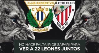 Leganés-Bilbao Athletic: 22 leones luchando en Butarque