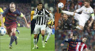 Los 40 candidatos al once del año de la UEFA