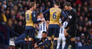El Arsenal pierde a Coquelin los próximos dos meses por lesión
