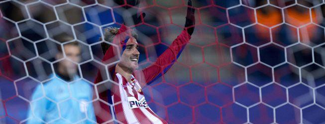 Doblete de Griezmann y el Atlético ya está en octavos