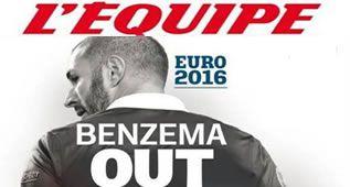 En Francia ven difícil que Benzema juegue la Eurocopa