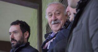 Vicente Del Bosque bendice las novedades del Eibar