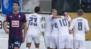 Eibar-Real Madrid en imágenes