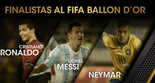 Neymar irrumpe en el pleito Cristiano Ronaldo-Leo Messi