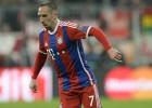 Guardiola vuelve a convocar a Franck Ribéry con el Bayern
