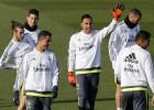 Entrenamiento sin Carvajal ni Ramos, pero con Marcelo