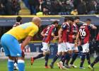 El Nápoles cae en Bolonia a pesar del doblete de Higuaín